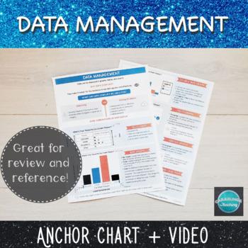 Data Management Infographic Anchor Chart