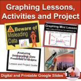 Data Management Ontario   Graphing   Lesson with Activities and Project Bundle