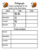 Data Management- Sports Pictograph