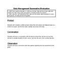 Data Management Summative Evaluation