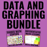Data Management and Graphing Bundle for Guided Math