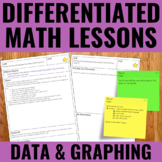 Data Management and Graphing Lessons for Guided Math - Dif