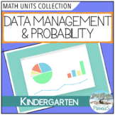 Data Management and Probability - lessons and activities - Kindergarten FDK