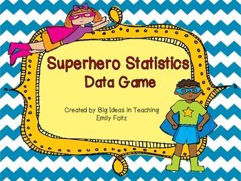 Data Median, Mode, Minimum, Maximum, Range Game...FUN!!