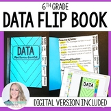 Data Mini Tabbed Flip Book for 6th Grade Math