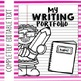 Editable Notebook Theme Data Notebook (PPT & Google Classroom) Distance Learning