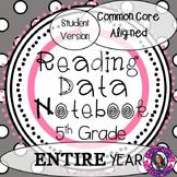 Data Notebook 5th Grade Reading