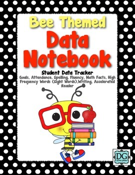 Data Notebook- Bee Themed
