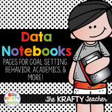 Data Notebook, Binder, Folder, Goal Setting, First, Second, Third, Fourth, Fifth
