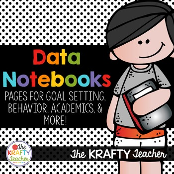 Data Notebook, Binder, Folder - Goal Setting, Leadership G