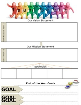 Data Notebook- Class Vision Statement & Goals