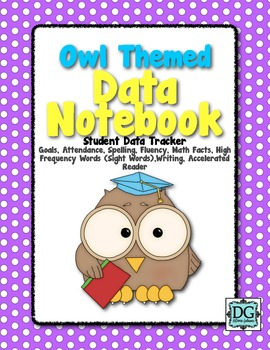 Data Notebook- Owl Themed