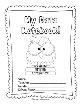 Data Notebook- Owl Themed