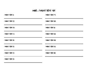 Data Notebook Grade Tracker Sheets