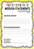 Data Notebook-Mission Statement