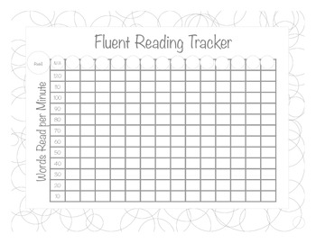 Data Notebook NWF and ORF tracking for 1st grade