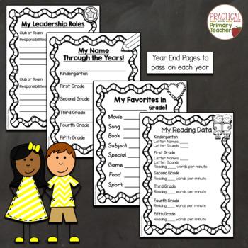 Data Notebook Pack - Elementary Grades