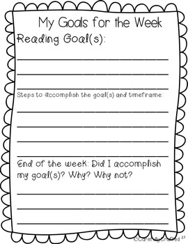 Data Notebook 3rd Grade Reading