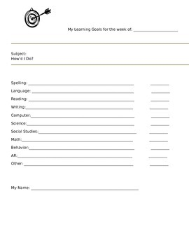 Data Notebook Starter Pages