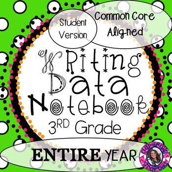 Data Notebook  3rd Grade Writing
