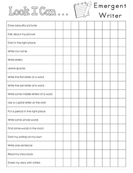 Data Notebook Writing Conference Checklists--3 Levels
