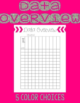 Data Overview Sheet
