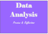 Data Preview and Reflection Sheet