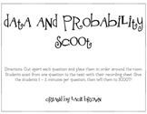 Data & Probability Scoot Game