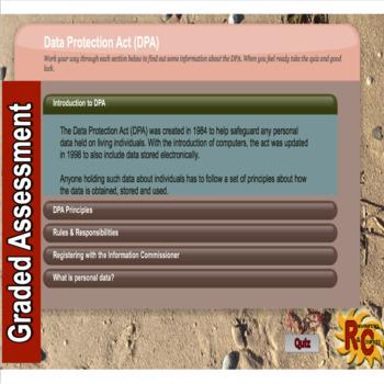 Data Protection Act Quiz