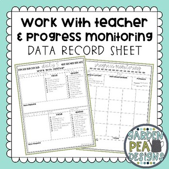 Data Record Sheet