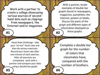 Data Relationshils Grade 5 Math Daily 3 Unit