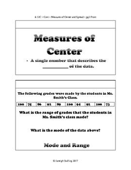 Data Representations - (7th Grade Math TEKS 7.6G and 7.12A-C)