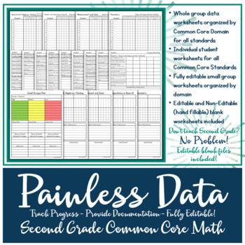 Data Tracking: Second Grade Common Core Math Standards