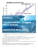 BUNDLE - Data Series - Using Microsoft Excel to Explore Climate Science