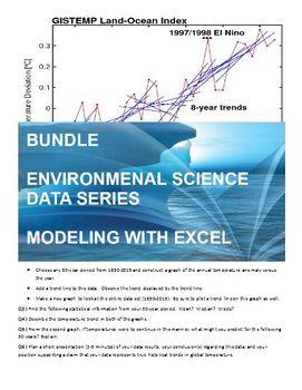 BUNDLE - Enviro Data Series - Using Microsoft Excel to Explore Climate Science