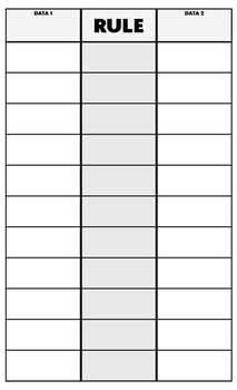 Data Set Table