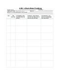 Data Sheet - ABC Behavior Tracker