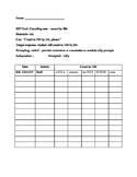 Data Sheet - Counting by 20s