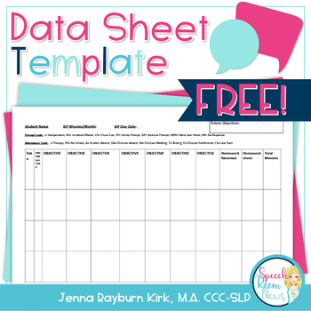 Data Sheet Freebie