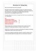 Data Sheet Template to Track Progress Toward IEP Goals
