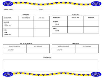 Data Sheet for Parents