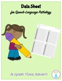 Data Sheet for Speech-Language Pathologists