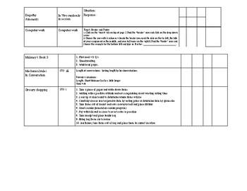 Data Sheet tracker template