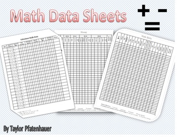 Data Sheets for Math