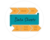 Data Sheets for Private Practice (and more!): AAC, Language, Artic, Pragmatics
