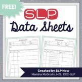 Editable Data Sheets for SLPs