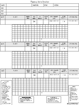 Data Sheets for Speech Therapy