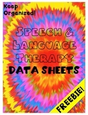 Data Sheets for Speech and Language Therapy - SLP