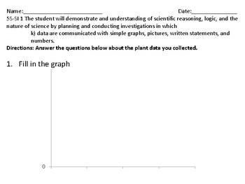 Data: Simple graphs, pictures, written statements, and numbers