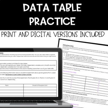 Data Table Practice